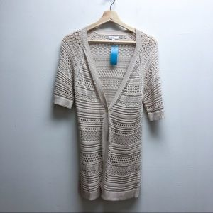 Croft & barrow quarter sleeve sweater